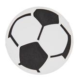 Soccer Ball Painted Wood Shape