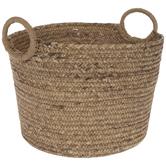 Natural Round Woven Basket