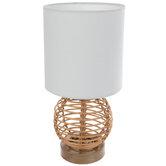 Woven Rattan Mini Lamp