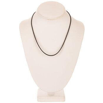 "Leatherette Cord Necklaces - 17 1/2"""