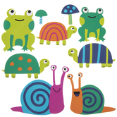Garden Friends Foam Stickers