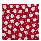 Santa & Snowflakes Gift Wrap