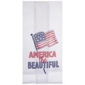 America The Beautiful Kitchen Towel