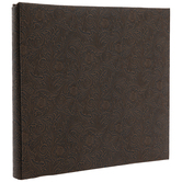 """Floral Embossed Post Bound Scrapbook Album - 12"""" x 12"""""""