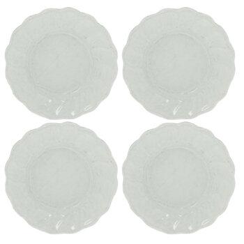 Miniature White Dinner Plates