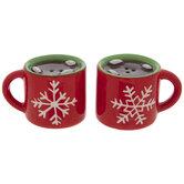 Hot Cocoa Mug Salt & Pepper Shakers