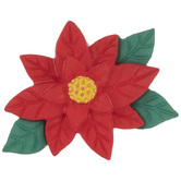 Poinsettia Shank Buttons