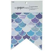 Mermaid Scale Two-Point Pennants