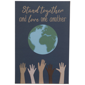 Stand Together Wood Wall Decor