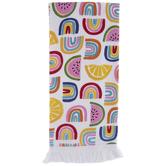 Rainbows & Fruit Kitchen Towel