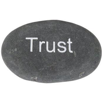 Trust Garden Stone