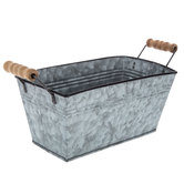 Rectangle Galvanized Metal Container