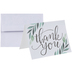 Green Leaves Thank You Cards