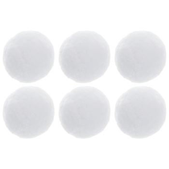 White Plush Snowballs