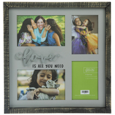 Love Is All You Need Wood Clip Collage Frame