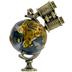 Globe & Binoculars Pendant