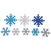 Snowflake Foam Stickers