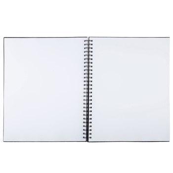 Black Wire Bound Sketchbook