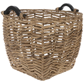 Herringbone Wicker Basket