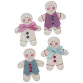 Gingerbread Men 3D Stickers