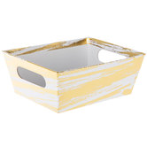Gold Foil Brushstroke Box