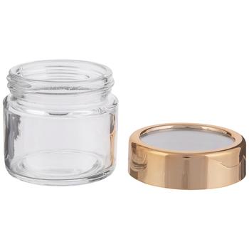 Window Lid Glass Mason Jar