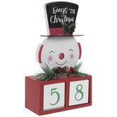 Days 'Til Christmas Retro Wood Countdown