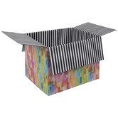 Watercolor Mailing Box