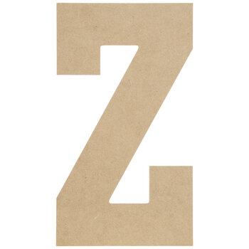 """Wood Letter Z - 13"""""""
