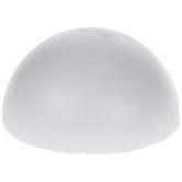 "White CraftFom Foam Half Ball - 12"""