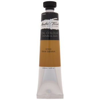 Raw Sienna Master's Touch Oil Paint - 6.8 Ounce