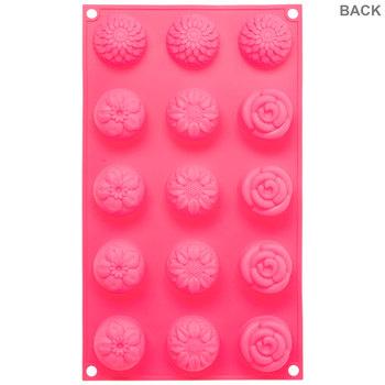 Mini Flower Cakes Silicone Mold