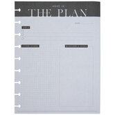 Here Is The Plan Happy Planner Paper
