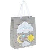 Welcome Little One Cloud Mobile Gift Bag