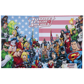 Justice League Of America Canvas Wall Decor