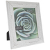 White Distressed Crackle Wood Frame - 8