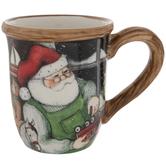 Santa's Workshop Mug