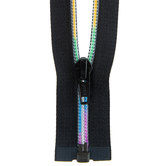 Rainbow Separating Zipper - 22""