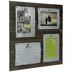 Rustic Wood Clip Collage Frame