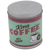 Kona Coffee Candle Tin