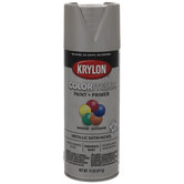 Satin Nickel Krylon ColorMaxx Metallic Spray Paint & Primer