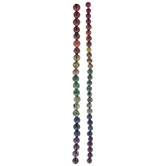 Speckled Rainbow Dyed Stone Bead Strands