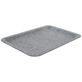 Rectangle Galvanized Metal Tray