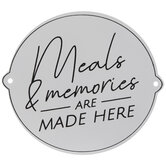 Meals & Memories Wood Wall Decor