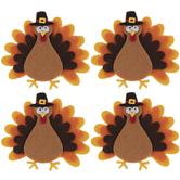 Turkey Felt Stickers