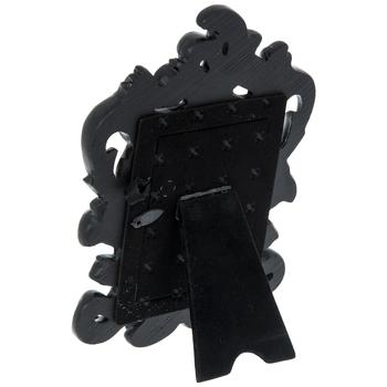 """Black Glossy Ornate Frame - 2 1/2"""" x 3 1/2"""""""