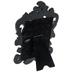 Black Glossy Ornate Frame - 2 1/2