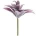 Flocked Succulent Pick