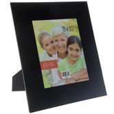 "Black Glass Frame With Beveled Edge - 8"" x 10"""