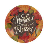 Thankful & Blessed Paper Plates - Small